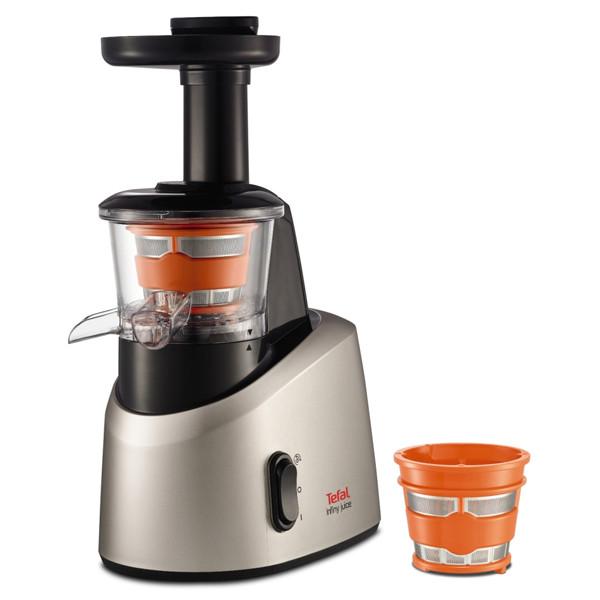 Tefal Slow Juicer Zc255 Review : Storcator de fructe si legume TEFAL Infiny Juice ZC255B38, 0.8l, 200W