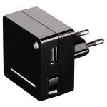 Incarcator retea universal HAMA Opal 124556, 1000mAh, USB, Black
