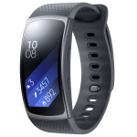 Bratara Fitness SAMSUNG Gear Fit 2, Dark Gray