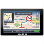 "Sistem de navigatie SMAILO HD 5, TraficOk, Romania, Mediatek 3351, TFT, 5"", 64MB, Micro SD"