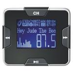 Modulator FM si MP3 Player TUADIA RDS PLUS, 206 frecvente, 7m, jack 2.5mm, negru