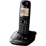 Telefon DECT PANASONIC KX-TG2521FXT, digital, 50 memorii, 300m, speaker, negru