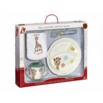 VULLI - Set pentru masa girafa Sophie baloane cutie cadou