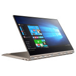 "Laptop 2 in 1 LENOVO Yoga 910-13IK, Intel® Core™ i7-7500U pana la 3.5GHz, 13.9"" Full HD Touch, 8GB, SSD 512GB, Intel® HD Graphics 620, Windows 10 Home, Champagne Gold"