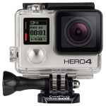 Camera video sport Ultra HD GO PRO Hero 4, Wi-Fi, Bluetooth, Silver