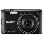 Camera foto digitala NIKON Coolpix A300, 20.1 Mp, 8x, 2.5 inch, Black