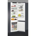 Combina frigorifica incorporabila WHIRLPOOL ART 9810/A+, 308l, A+, inox