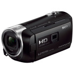 Camera video SONY HDR-PJ410B, 30x, 2.7 inch, HDMI, negru