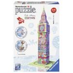 Puzzle 3D RAVENSBURGER Big Ben colorat, 216 piese