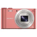 Camera foto digitala SONY DSC-WX350P, 18 Mp, 20x, roz