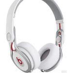 Casti on-ear cu microfon Beats Mixr by Dr. Dre, alb