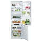 Combina frigorifica incorporabila HOTPOINT BCB 80201 AA F C O3, No Frost, 294l, A+, alb