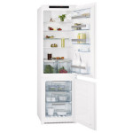 Combina frigorifica incorporabila AEG SCT71800S1, 263l, A+, alb