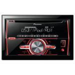 Radio CD auto PIONEER FH-460UI, 4x50W, USB, iluminare rosu