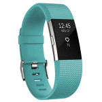 Bratara Fitness FITBIT Charge 2 Teal Silver, Small