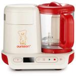 Cream Soup Maker - Aparat de gatit cu aburi si blender OURSSON BL1060HGD/ RD,500W, 950ml, alb-rosu