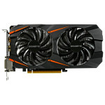Placa video GIGABYTE NVIDIA GeForce GTX 1060 Windforce OC, 3GB GDDR5, 192bit, GV-N1060WF2OC-3GD