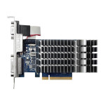 Placa video ASUS NVIDIA GeForce GT 710, 2GB DDR3, 64bit, 710-2-SL