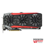 Placa video ASUS AMD Strix R9 FURY, STRIX-R9FURY-DC3-4G-GAMING, 4GB HBM, 4096bit