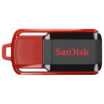 Memorie portabila SANDISK Cruzer Swich SDCZ52-16GB, 16GB, negru-rosu