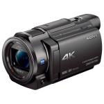 Camera video 4K cu proiector incorporat SONY FDR-AXP33, negru