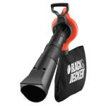Aspirator/Suflanta pentru frunze BLACK & DECKER GW2810, 2800W, 230-380Km/h