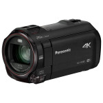 Camera video 4K PANASONIC HC-VX980, 20x, 3 inch, HDMI, Wi-Fi, negru