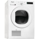 Uscator de rufe WHIRLPOOL Supreme Dryer HDLX 70410, 7kg, Clasa A++, alb