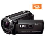 Camera video Full HD cu proiector incorporat SONY HDR-PJ530E, negru