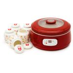 Aparat pentru preparat iaurt OURSSON FE1502D/RD, 1l, 1 program, rosu