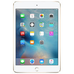 "Apple iPad mini 4, 32GB, Wi-Fi + 4G, A8, Ecran Retina 7.9"", Gold"