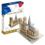 Puzzle 3D CUBICFUN CBF3 - Catedrala Notre Dame din Paris