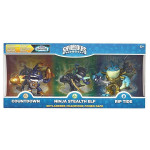 Figurina Classic Triple Pack 3- Countdown/Stealth Elf/Riptide (Core) - Skylanders Imaginators