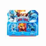 Set 3 figurine: Blades, Tidal Wave Gill Grunt, Torch - Skylanders Trap Team