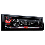 Radio CD auto JVC KD-R771BT, 4x50W, Bluetooth, USB, iluminare rosie