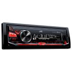 Radio MP3 auto JVC KD-X330BT, 4x50W, USB, Bluetooth, iluminare rosie