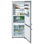 Combina frigorifica No Frost MIELE KFN 14947 SDE ED/CS-1, 412l, A++, inox