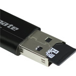 Adaptor OTG Data Link cu Card Reader microSD, PROMATE KitKater