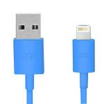 Cablu de date USB Apple Lightning, PROMATE linkMate-LT, Blue