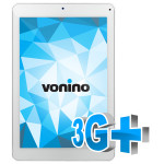"Tableta VONINO Magnet M9, Wi-Fi + 3G, 9.0"", Quad Core MTK8389T 1.5GHz, 16GB, 1GB, Android Jelly Bean 4.2.2, alb-argintiu"
