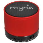 Boxa portabila MYRIA MDC-0601RD, Bluetooth 3.0, 3W, rosu