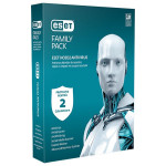 Antivirus ESET NOD32 Family Pack V9, 1 an, 2 utilizatori