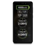 "Smartphone Dual Sim ALLVIEW P9 Energy mini, 5"", 13MP, 3GB RAM, 16GB, 4G, Quad-Core, Dark Blue"