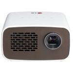 Videoproiector LG Minibeam PH300, HD 720p, alb