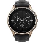 Smartwatch VECTOR Luna, Rose Gold with Black Croco Strap