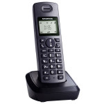 Telefon DECT GRUNDIG D1135, digital, 50 memorii, robot, negru