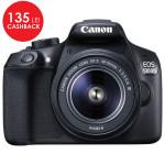 Camera foto digitala CANON EOS 1300D + obiectiv EF-S 18-55mm DC III