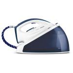 Statie de calcat PHILIPS SpeedCare GC6630/20, talpa SteamGlide ceramic, 2400W, 1,2 l, 4.8bari, 170gr, alb-albastru