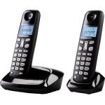 Telefon DECT GRUNDIG D160Duo, digital, 300m, negru