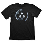 Tricou Assassin's Creed 4 - Animus Crest, marime L, negru